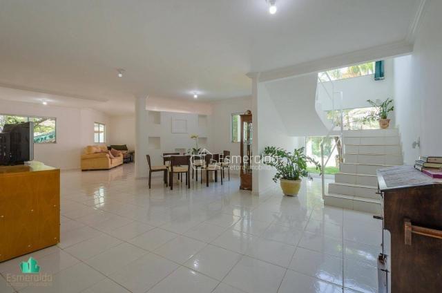 Casa com 5 suítes em condomínio. aceita permuta por apartamento. linda vista para um vale  - Foto 6