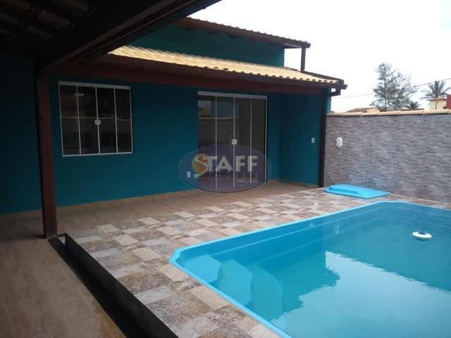OLV-Casa com 2 quartos e piscina a partir de R$ 165.000,00 - Unamar - Cabo Frio/RJ CA1229