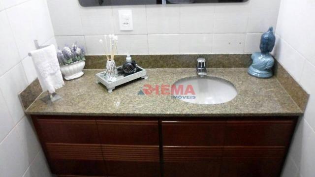 Apartamento com 3 dormitórios à venda, 180 m² por R$ 925.000,00 - Gonzaga - Santos/SP - Foto 15