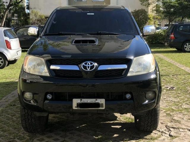 Toyota Hilux CD SRV D4-D 4x4 3.0 TDi AT 2008 - impecável! - Foto 4