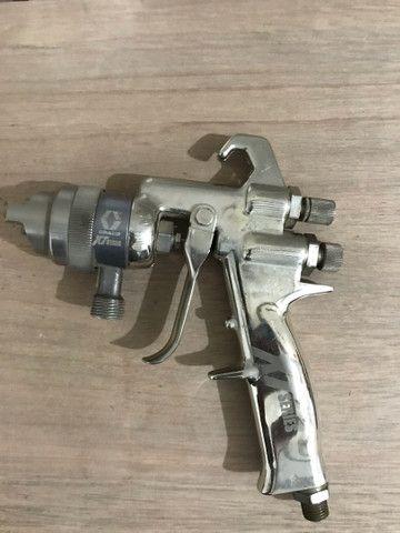 Pistola de pintura de tanque