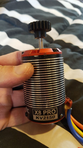 Motor brushless 2150kv sensored novo