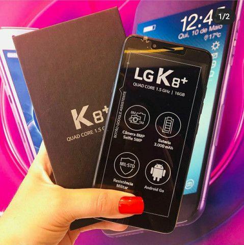 LG K8 Plus 16Gb Preto (LACRADO - QUEM ABRE É VOCÊ COM NOTA FISCAL E GARANTIA) - Foto 2