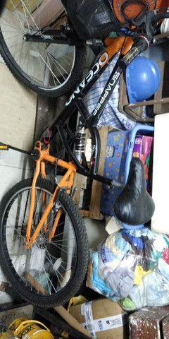 Bicicleta semi_nova.  - Foto 5
