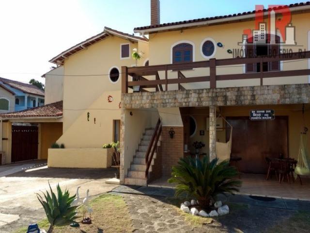 Casa duplex com piscina e Casa de hospede, frente para Lagoa de Araruama Balneário - São P - Foto 16