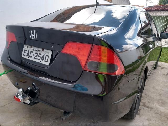Honda Civic automático 2009 LXS - Foto 4