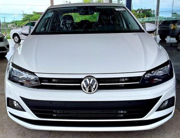 Novo Volkswagen Virtus Comfortline 2019-2020 - 19/20 - Branco Cristal