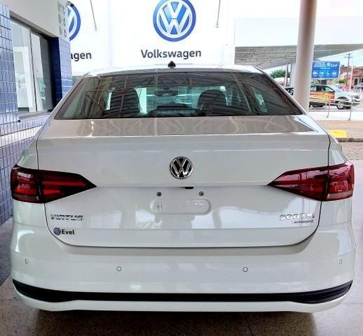 Novo Volkswagen Virtus Comfortline 2019-2020 - 19/20 - Branco Cristal - Foto 6