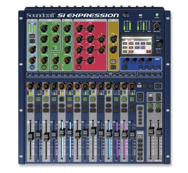 Mesa de som expression 1 soundcraft