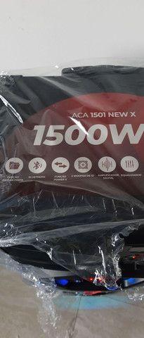 Caixa de som amvox portátil  1500 watts rms - Foto 3