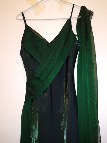 Vestido de festa longo verde - Foto 3