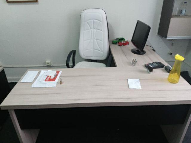 Cadeira presidente novinha 550.00 - Foto 2