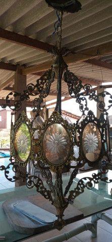 Lustre colonial R$ 350,00 cada - Foto 3