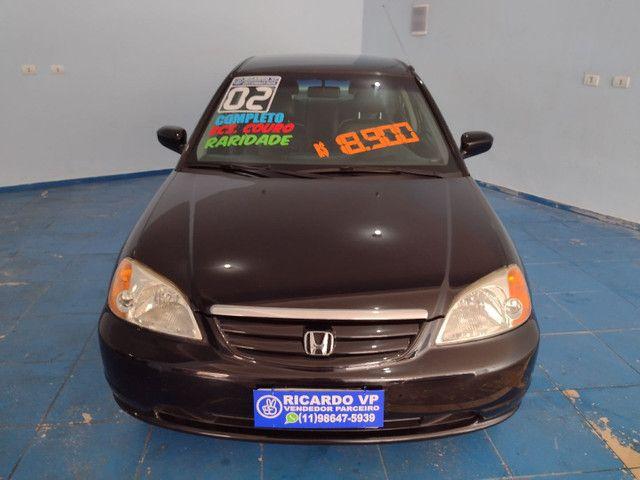 Honda Civic 2002 Manual 1.7 Era Assegurado Porto Seguro - Foto 2