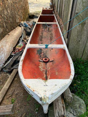 Canoa de madeira - Foto 3