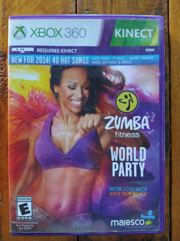 Zumba fitness original - usado - R$85