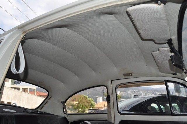 Volkswagen Fusca 79 1.300 Carro de colecionador, placa preta   Nunca foi restaurado. - Foto 13