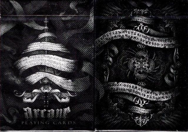 Baralho Arcane Black Uspcc Ilusionista Magica - Foto 2