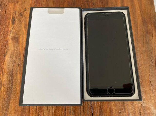 Iphone 7 Plus 128GB sem fone de ouvido. Sem detalhes. Bateria Nova - Foto 2