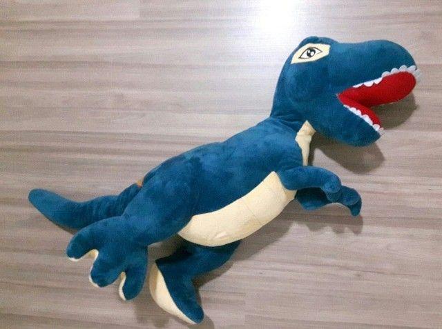 Dinossauro Pelúcia 60 cm - Foto 4