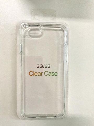 Capa Clear Case Acrílico iPhone 6,6sPlus ,7/8, 7/8 Plus,X,Xs,Xr,Xs Max - Foto 2