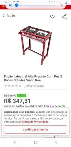 Fogao e forno industrial  - Foto 3