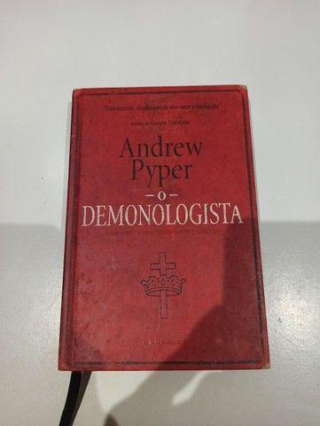 Livro O Demonologista