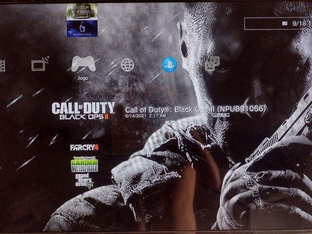 Playstation 3 Slim 160GB Black *Leia A Descrição* - Foto 5