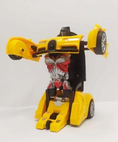 mini carro que se transforma em robo - Foto 4