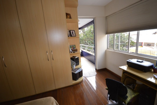 Sion venda apartamento 3 qts 122m²  varanda 2 vgs - Foto 11