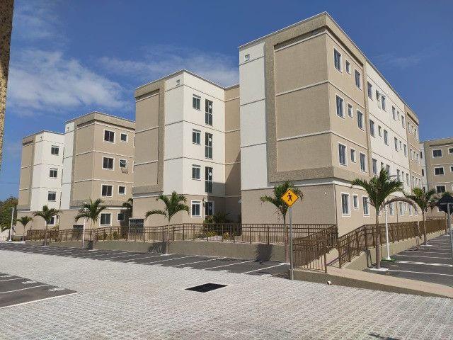 APT 128, Messejana, apartamento novo no 1º andar com 02 quartos, piscina - Foto 8