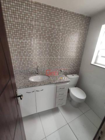 Apartamento com 3 dormitórios para alugar, 90 m² por R$ 2.800,00/mês - Algodoal - Cabo Fri - Foto 7