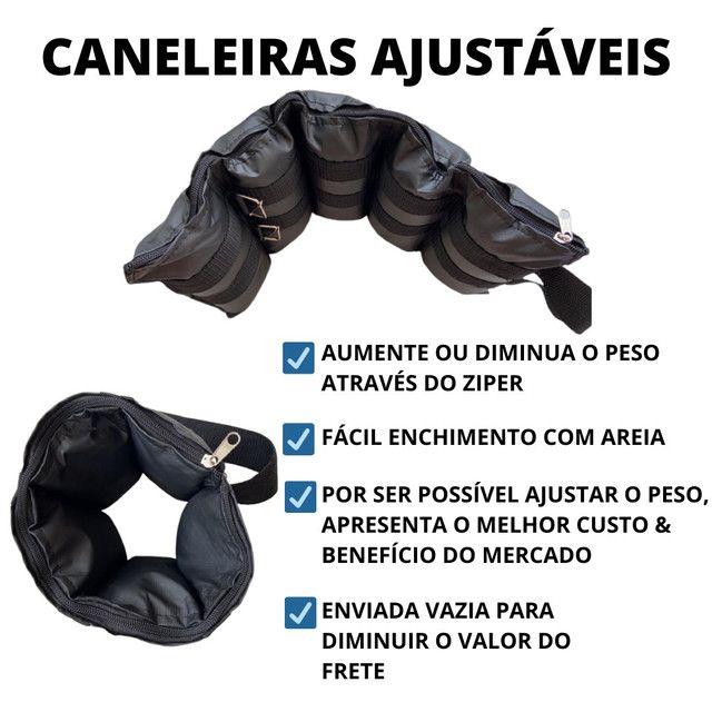 Caneleiras ajustáveis peso tornozeleiras  - Foto 5