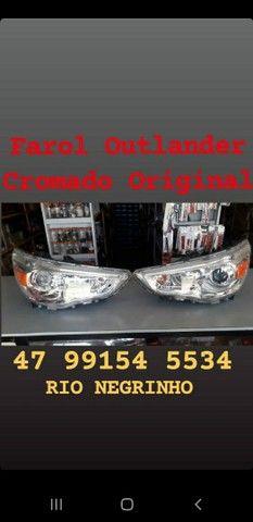 Farol Mitsubishi Outlander Original  - Foto 2