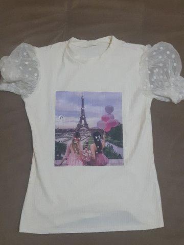 Blusinhas femininas / calça  - Foto 5