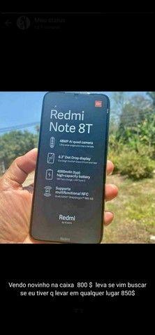 Redmi Note 8 T  Novo sem marcas de uso Perfeito