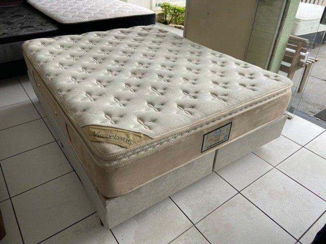 cama box queen size - Viscoelastic - entrego - Foto 2