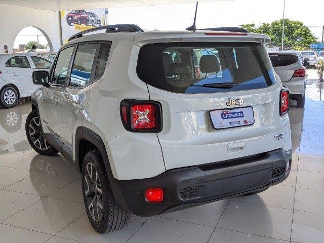 Jeep Renegade 1.8 Flex Longitude Automático 2019 Branco! - Foto 4