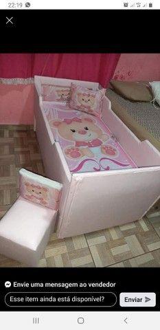 Adquira já lindas camas infantil já com colchão. - Foto 3