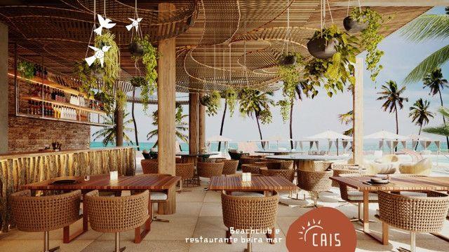 FG* 4Suítes-Pé na Areia-Praia de Muro Alto-175m²-Beach Club e Restaurante Beira Mar - Foto 2