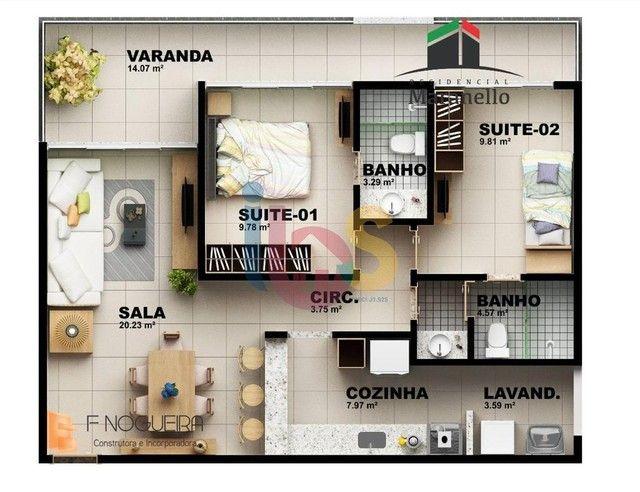 Apartamento 3/4 no Residencial Maranello - Foto 8