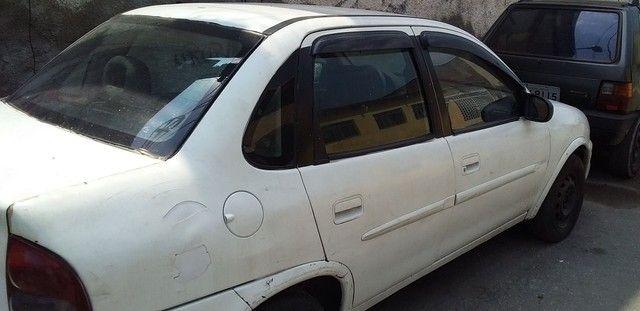 Corsa sedan 2002 1.0 8v Gnv 3g - Foto 4