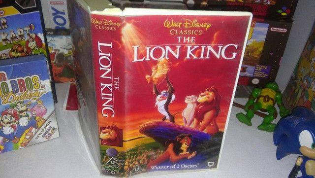 Quadro O Rei Leão + Caixa Vhs - Foto 3