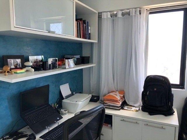 RB 074 Aparatamento todo reformado 3 quartos 128m² 2 suites 2 vagas cobertas -Boa viagem - Foto 10