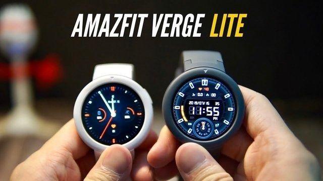 Pronta Entrega Relógio Smartwatch Inteligente Amazfit Verge Lite A1818 Gps - Foto 2
