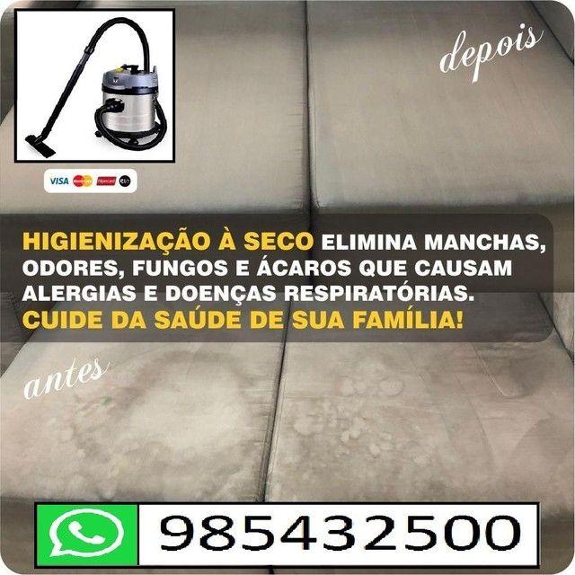Lavagem para sofá a seco (informações pelo whatsapp)<br> - Foto 4