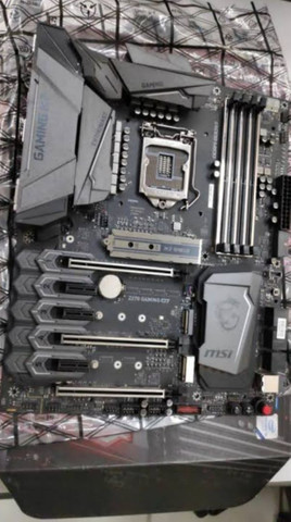Processador I7 6700 + placa mãe Z270 Gaming M7. Aceito troca notebook, TV 4K, MONITOR. - Foto 2