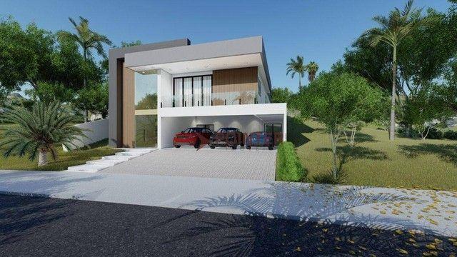 Sobrado com 4 dormitórios à venda, 615 m² por R$ 1.899.000,00 - Condomínio do Lago - Goiân