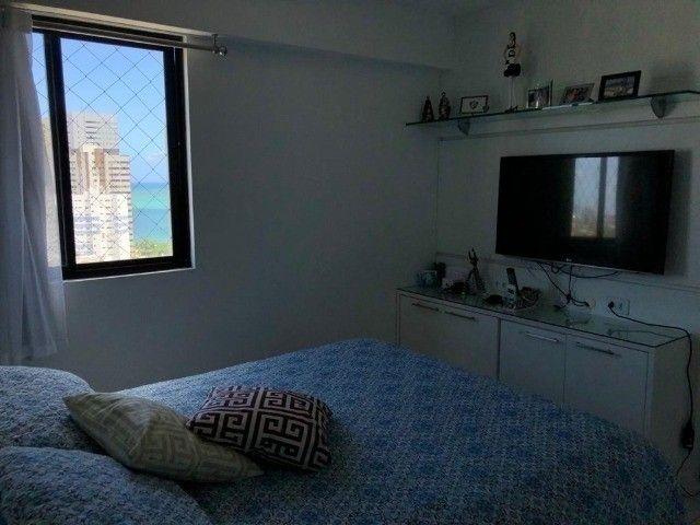 RB 074 Aparatamento todo reformado 3 quartos 128m² 2 suites 2 vagas cobertas -Boa viagem - Foto 8