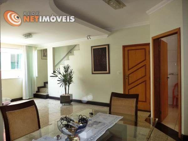 Apartamento à venda com 4 dormitórios em Castelo, Belo horizonte cod:465894 - Foto 3